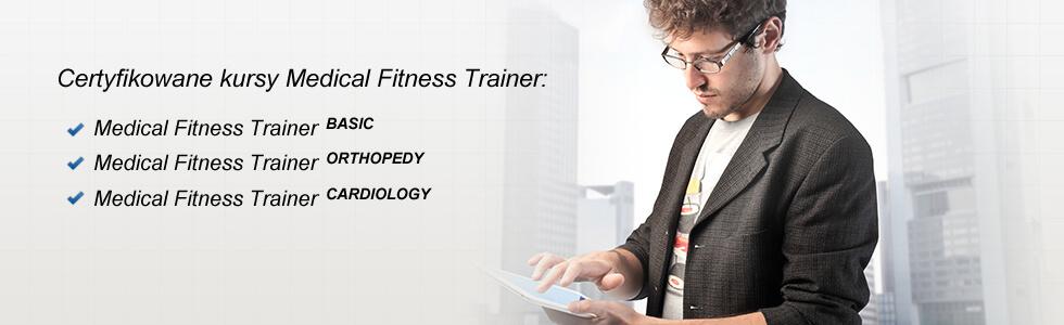 certyfikaty szkoleniowe medical fitness